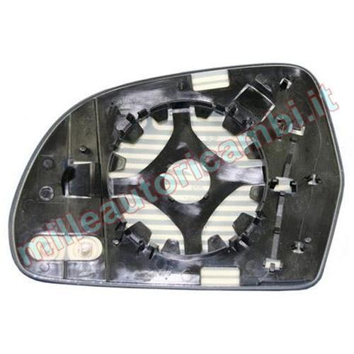 Vetro Specchio Retrovisore Destro termico e Asferico per A4 dal 2007 a 2011