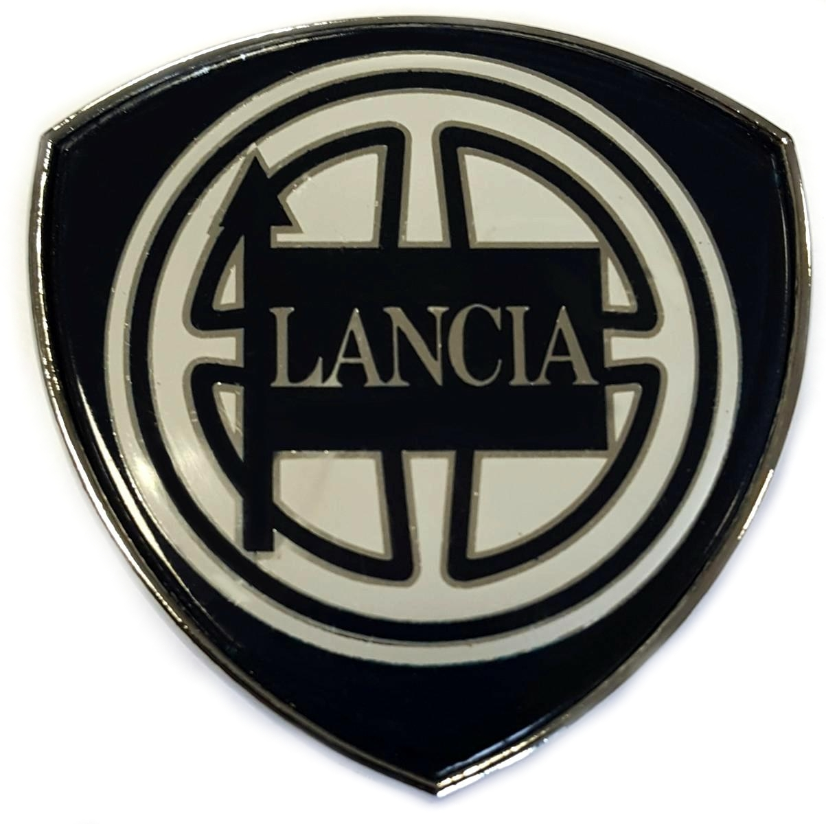 LOGO STEMMA FREGIO POSTERIORE LANCIA Y (BLU SCURO) DAL 2000 AL